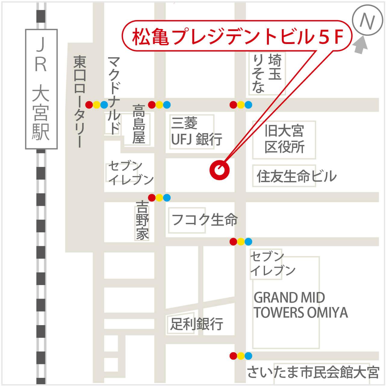 さいたま支社地図